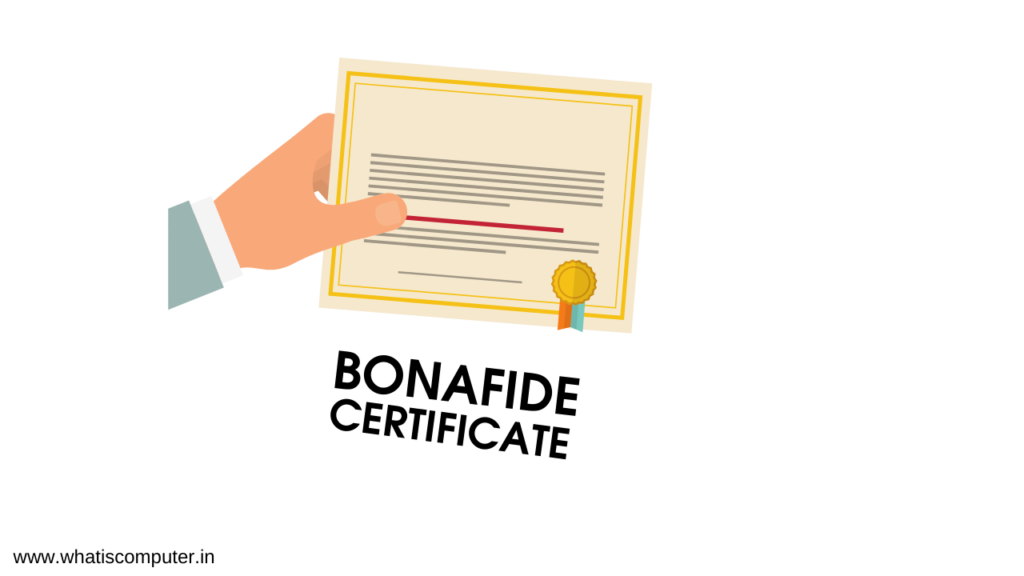 How to Get a Bonafide Certificate?