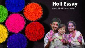 Holi-Essay