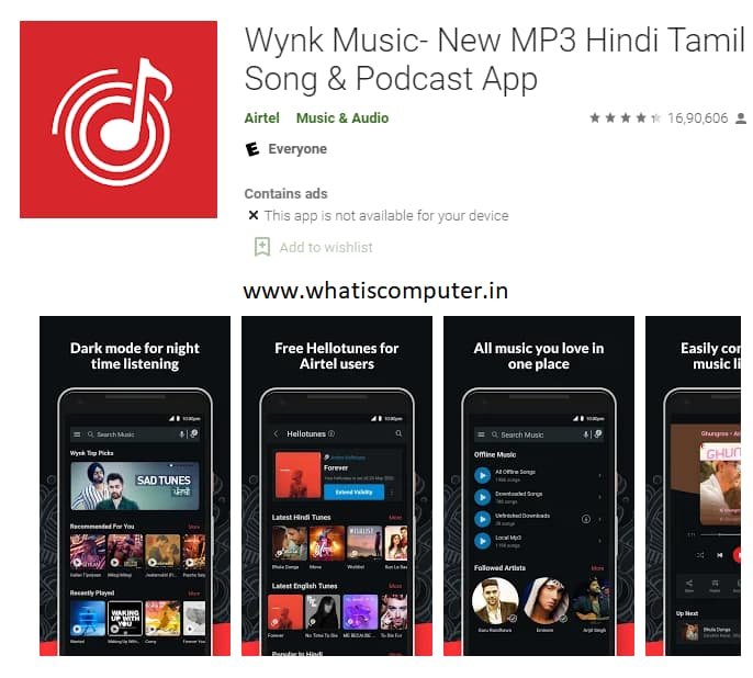How to Set Airtel Caller Tune from Wynk