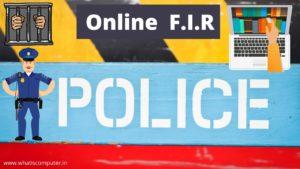 how to file fir online